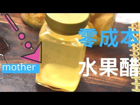水果醋 / 酵素 DIY (零成本、零失敗,有mother)