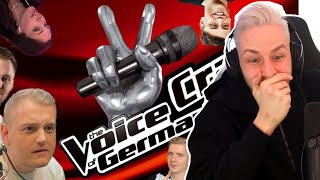 Reaktion auf VOICE CRACK OF GERMANY #2 ( Lachflash zu 100%)