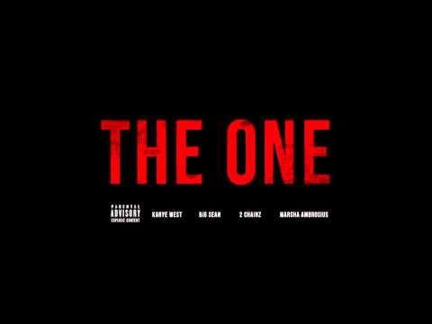 The One (feat. Big Sean, 2 Chainz & Marsha Ambrosius) - Kanye West (Clean)