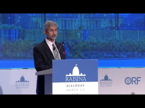 Raisina Dialogue 2016 | Keynote Address by Foreign Secretary of India Dr. Subrahmanyam Jaishankar