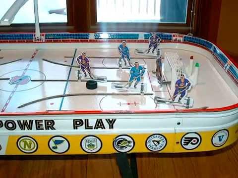 Table Hockey Games I\'ve Restored Part 1 - YouTube