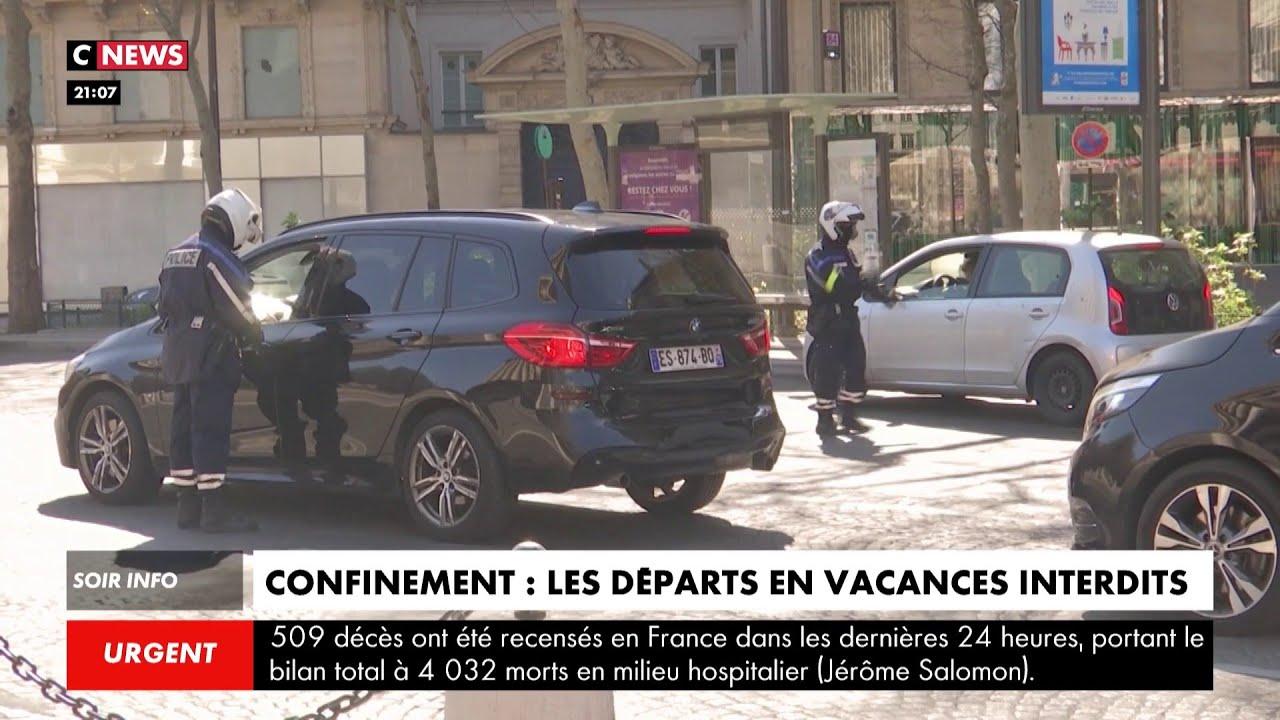 Confinement : les départs en vacances interdits