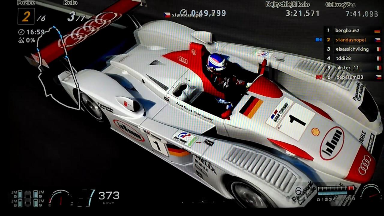 Gran Turismo Race Le Mans Audi R Race Car Online - Audi r8 race car 01 gt6