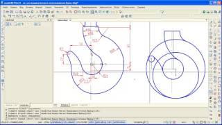 2D черчение в nanoCAD 8. Построение дуг. Простановка размеров.