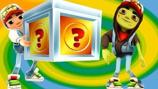 SUBWAY SURFERS GAMEPLAY PC Full Screen HD ✔ Zombies Run AND MYSTERY BOXES OPENING