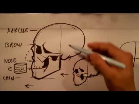How To Draw Skull Drawings