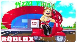 EIN TAG ALS PIZZA DELIVERY GIRL! 🍕- ROBLOX
