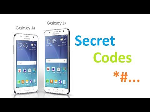 Samsung Galaxy J5 and J7 Secret Codes