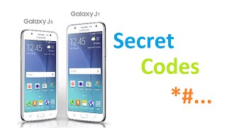 Samsung Galaxy J5 And J7 Secret Codes