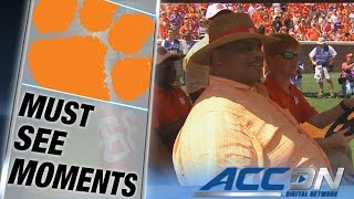 """William """"The Refrigerator"""" Perry Honorary Captain for Clemson 