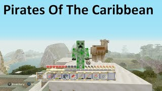 Minecraft Xbox - Pirates Of The Caribbean Mash-Up Pack - Finding A Nice Home Space..... (3)