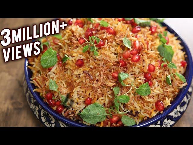 How To Make Vegetable Biryani | Easy Homemade Biryani Recipe | The Bombay Chef - Varun Inamdar