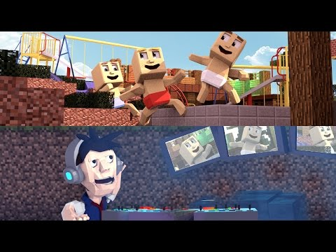 Minecraft | Who's Your Daddy Family? BABIES LEFT HOME ALONE! (Dad's Secret Spy Base)