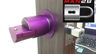 Repeat youtube video [9] Forever Lock: Home edition. Awesome Anti-Pick Door Lock!