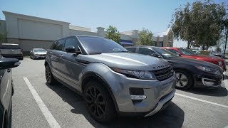 I TOOK MY RANGE ROVER TO CARMAX they offered me...