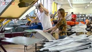 видео: Печать изображения на зонтах.Шелкография. The direct printing on umbrellas.