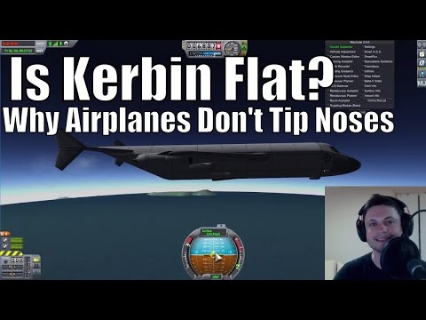 Flat Kerbin: Level Flight Experiment (Proving Kerbin is Flat?)
