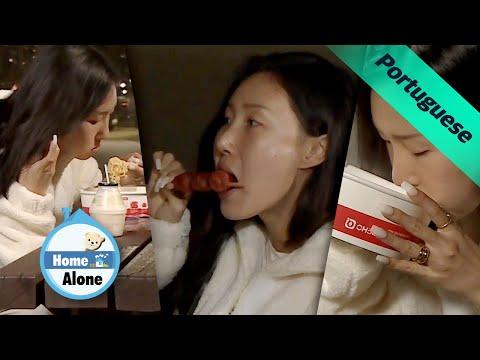Hwasa é a gumiho do Rio Han que come ramyeon~ [Home Alone Ep 336]