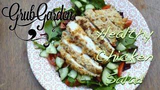 Healthy Chicken Salad | By Grub Garden