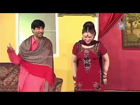 Sajan Abbas And Khushboo New Pakistani Stage Drama Full Comedy Clip