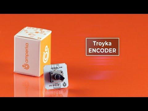 Энкодер — датчик угла поворота на базе EC12E. Как работает и чем отличается от потенциометра