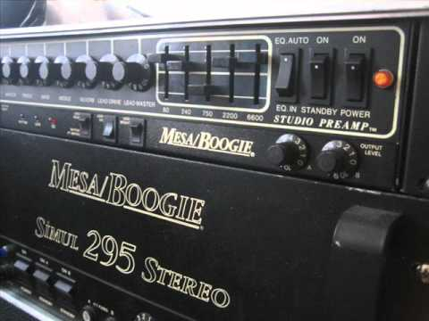 Mesa Boogie Studio Preamp  295 strat  YouTube