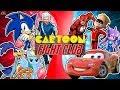 ULTIMATE RACE! (Sonic vs Flash, Sash Lilac, Lighting McQueen, Road Runner & More) CARTOON FIGHT CLUB