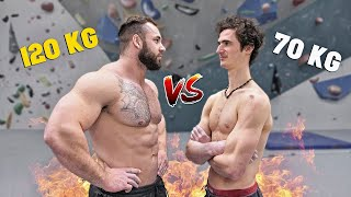 HORSE VS ADAM ONDRA Best Climber in the World