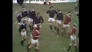 Scotland v Wales at Murrayfield 1975
