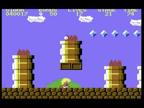 C64 Longplay - The Great Giana Sisters (warpless)