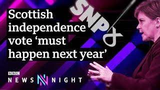 Scottish independence: Can SNP benefit from Brexit deadlock? - BBC Newsnight