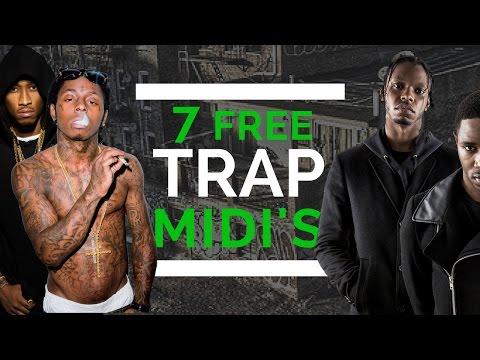 7 Free Trap Midi's