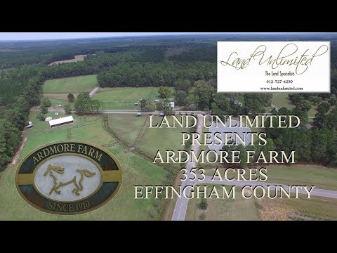 Historic Ardmore Farm - Land Unlimited