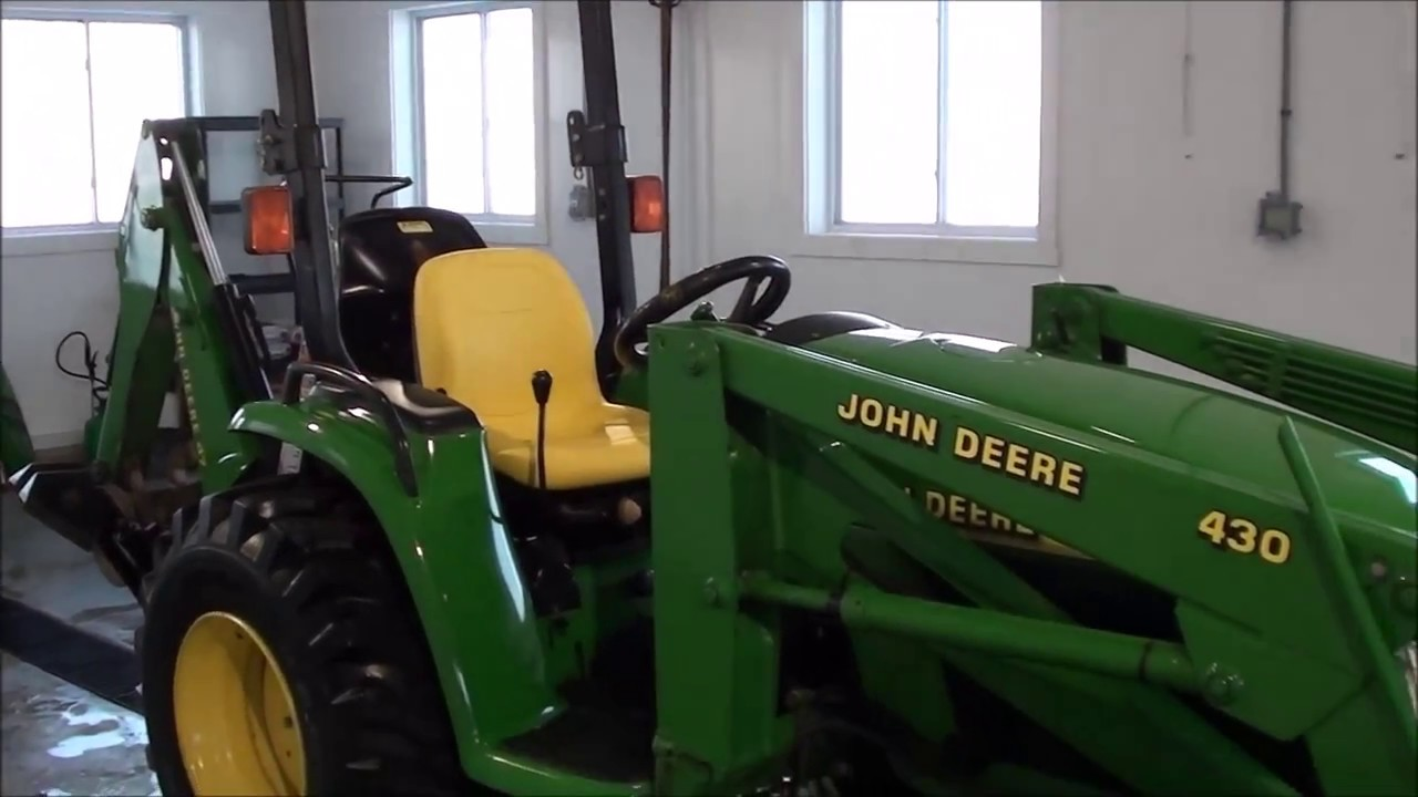 Holder Tractor Craigslist >> Jd 4400 Tractor Loader Backhoe For Sale By Mast Tractor Youtube
