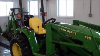 JD 4400 Tractor, Loader, Backhoe, For Sale by Mast Tractor!