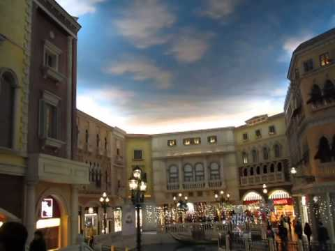 Venetian casino в Макао - Венеция в Китае!