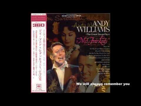 andy Williams original album collection   Solitaire 1972