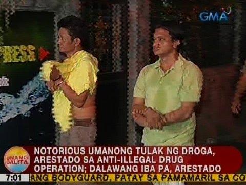 UB: Notorious umanong tulak ng droga, arestado sa anti-illegal drug operation sa Taguig