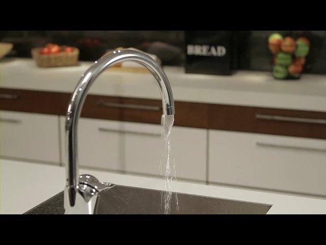 Чистка аэратора. Устранение неровности потока воды