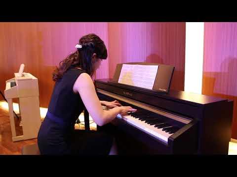 カワイ電子ピアノ「CA58」を演奏
