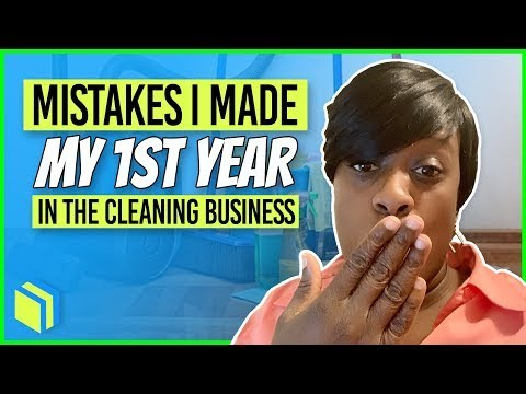 How To Start A Cleaning Business  Common Mistakes In Cleaning Business.