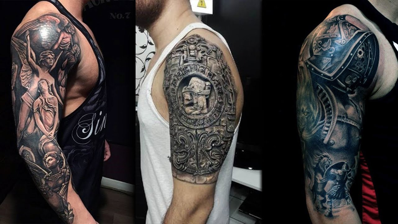 Upper Sleeve Tattoo Designs: Arm Tattoo Design Ideas For Girls