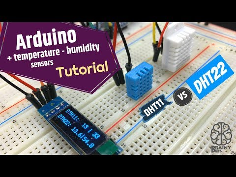 DHT11 Vs DHT22 With Arduino