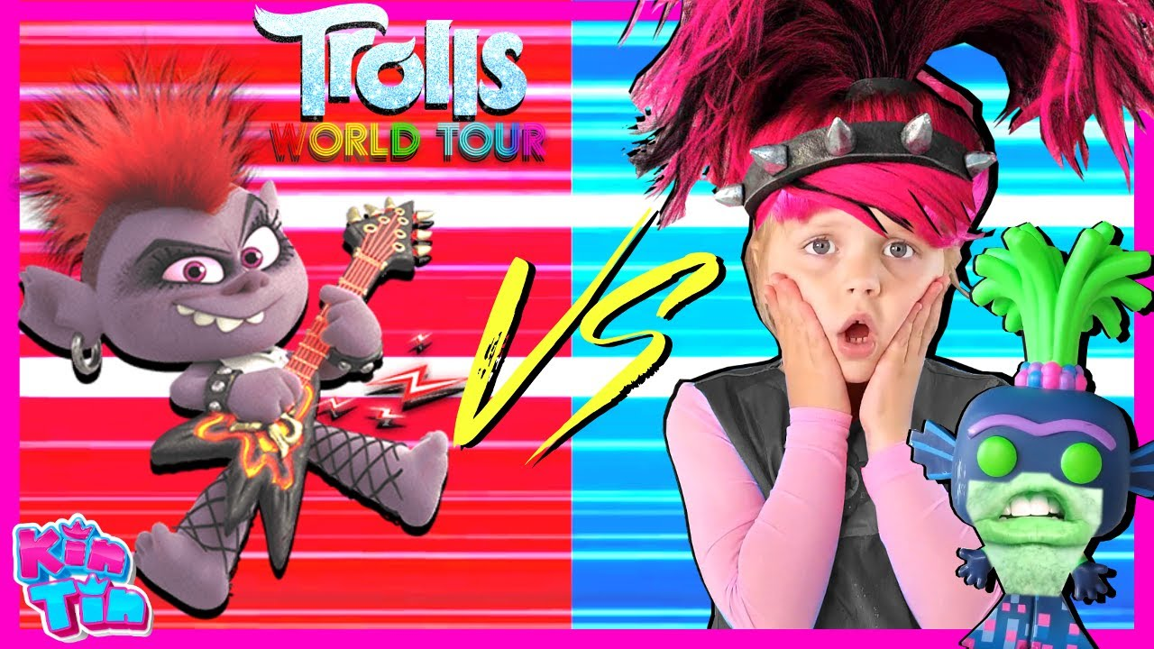 Trolls Poppy World Tour Final Song Scene | Barb VS Poppy In Real Life!