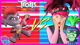 Trolls Poppy World Tour Final Song Scene | Barb VS Poppy In Real Life!