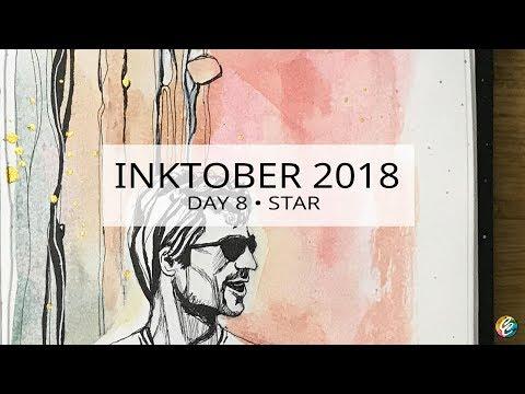 INKTOBER 2018 • day 8 • star