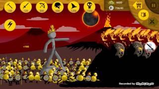 Stick War Legacy | Massive 700 Troop Battle! | Griffon The Greats,Golden Speartons And Elites!