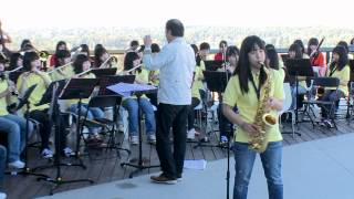 Michael Jackson Medley- Ichijo Senior High School Band 2013 一条高校吹奏楽部2013