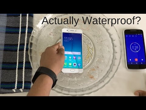 Oppo F1s Water Test! Actually Waterproof?