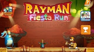 Rayman: Fiesta Run - Being Chased By The Mecha Carnivora Boss (iPad Gameplay)